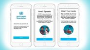 World Health Organisation (WHO) App For Android & iOS Coming Soon; To Combat Fake News Regarding Coronavirus