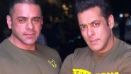 Coronavirus Outbreak: Salman Khan Won't Be Able to Attend His Nephew, Abdullah's Funeral Amid the Lockdown