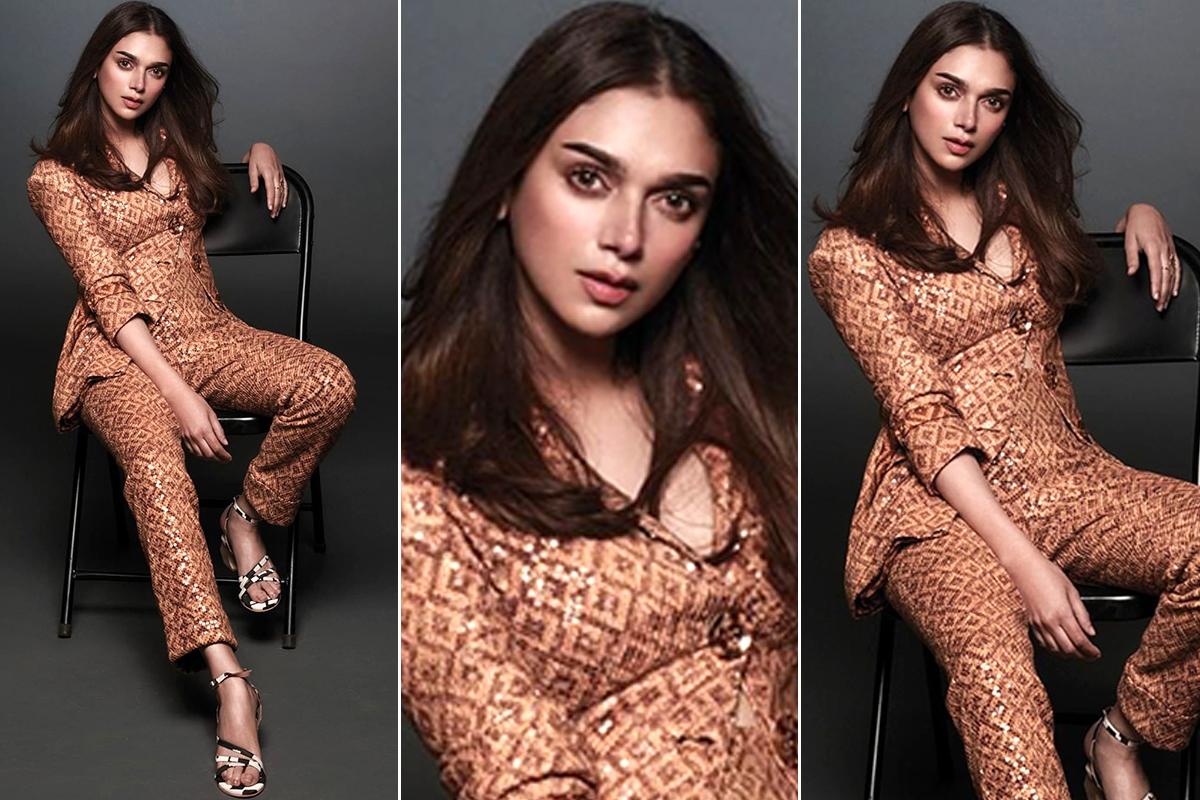 Aditi Rao Hydari in Nikita Mhaisalkar Pantsuit for Femina March Photoshoot