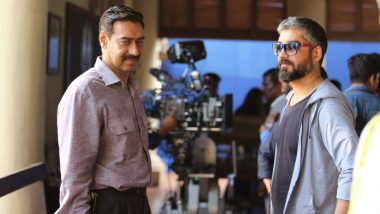Maidaan: Here's Ajay Devgn's New Pic with Director Amit Sharma from the Sets of the Film!