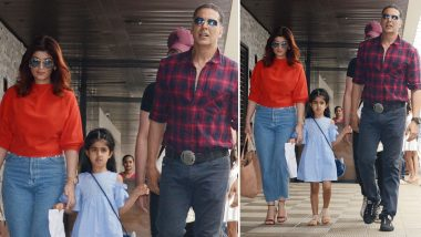 Akshay Kumar and Twinkle Khanna's Daughter Nitara Is Giving Parents a Hard Time With Her Cute Shenanigans! (Watch Video)