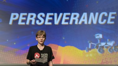 NASA's Mars 2020 Rover Named 'Perseverance' by Alexander Mather, Seventh-Grader From Virginia