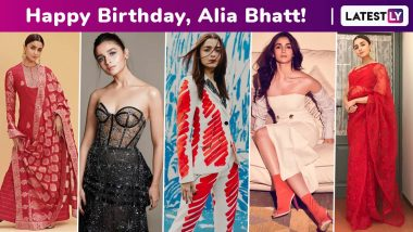 Happy Birthday, Alia Bhatt! Flirty, Comfy, Vintage, Trends and Classics – Your Cool Girl Energy Is Incredibly Infectious and How!