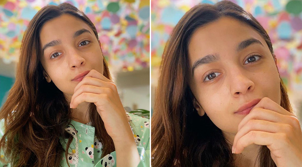Alia Bhatt Looks As Cute as a Button in a Panda PJ Set, Makes a Compelling Case for Vanity in Quarantine!