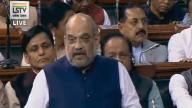 Amit Shah Expresses Sorrow Over Delhi Violence in Lok Sabha, Says 'Police Contained Riots in 36 Hours'