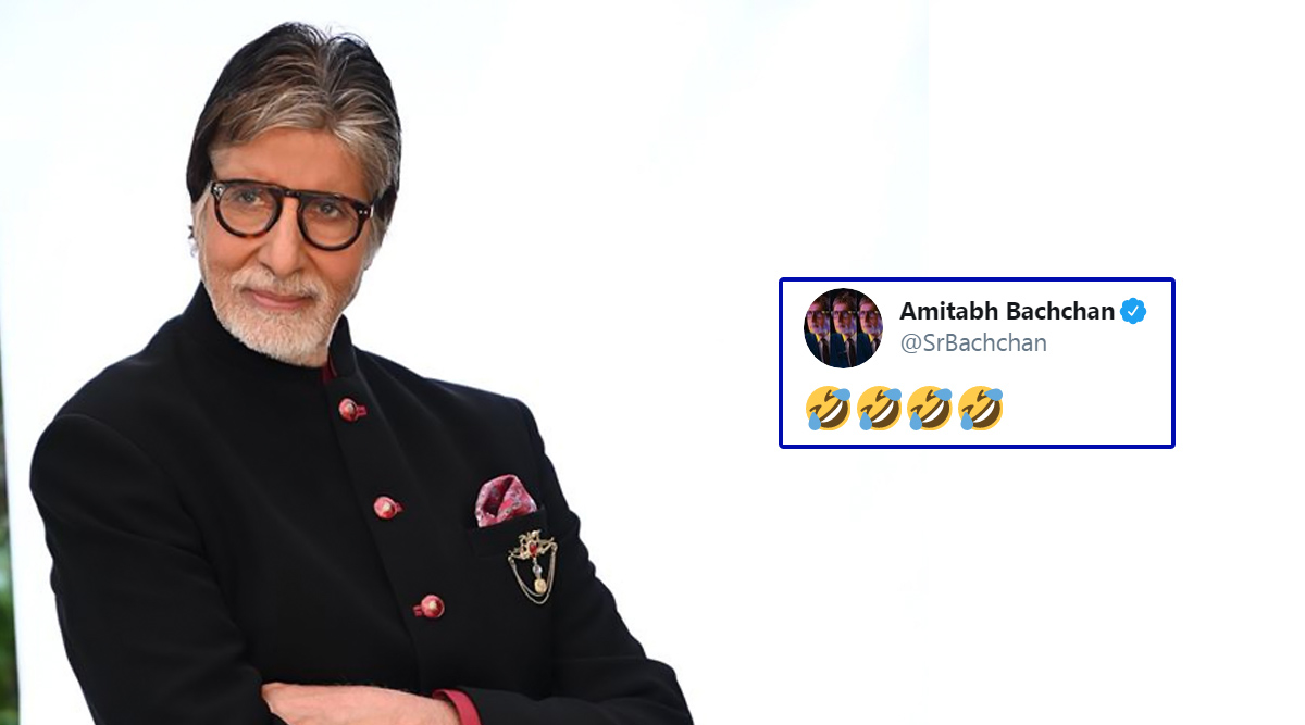 Amitabh Bachchan's Four-Smileys Tweet Leaves Fans Bemused; Twitterati Makes Funny Jokes and Memes Out Of It!