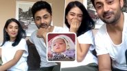 COVID-19 Lockdown: Amrita Rao and Hubby RJ Anmol Name a Fan's Newborn Baby Girl During Their First Live Chat (Watch Video)