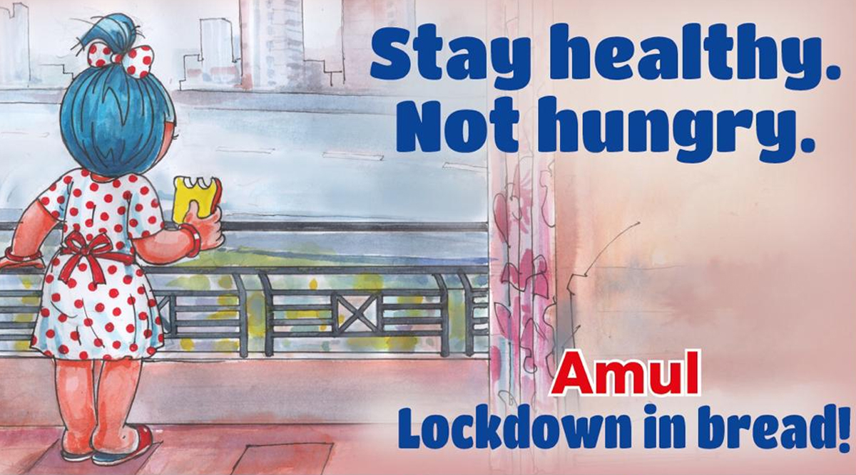 Amul Ad Urges Citizens to 'Stay Healthy, Not Hungry' During Coronavirus Lockdown