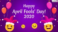 April Fools' Day 2020 Wishes For Girlfriend: WhatsApp Stickers, Facebook Greetings, GIF Images, SMS and Messages to Send Your Loved One