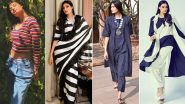 Athiya Shetty Posts a Selfie Wearing a Striped Tee! Here's Why Her Obsession With the Lined Print Is Fabulously Chic!