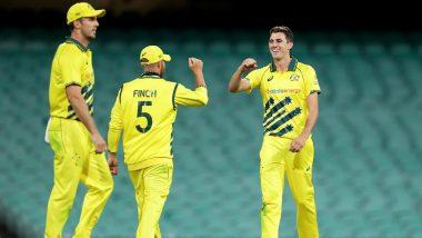 AUS vs NZ 1st ODI 2020: Australia Thrash New Zealand by 71 Runs to Take 1–0 Lead Even As Coronavirus Threaten to Cancel Series