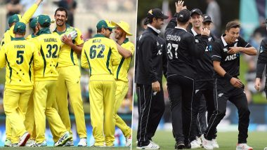 NZ vs AUS T20I Series 2021: Third and Fourth Fixtures to be Played Behind Closed Doors