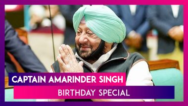Captain Amarinder Singh Birthday Special: A Look At His Political Career As He Turns A Year Older