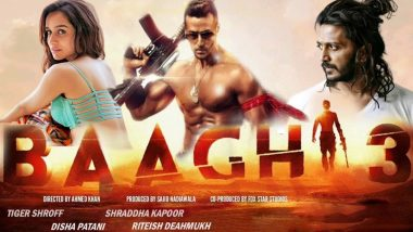 Baaghi 3 Quick Movie Review: Tiger Shroff's Film Has Decent First Half Thanks to the Action