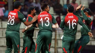 Bangladesh vs Zimbabwe Head-to-Head Record: Ahead of 1st T20I 2020, Here Are Match Results of Last Five BAN vs ZIM Twenty20 Encounters