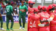 Zimbabwe vs Bangladesh, 3rd T20I 2021 Live Streaming Online and Match Timings in India: Get ZIM vs BAN Match Free TV Channel and Live Telecast Details