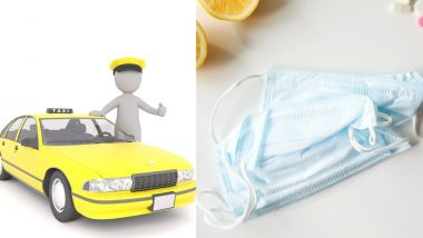 Coronavirus Precautions: Bengaluru Cabbie Offers Face Masks to Passengers Free of Cost as COVID-19 Continue to Spread in India