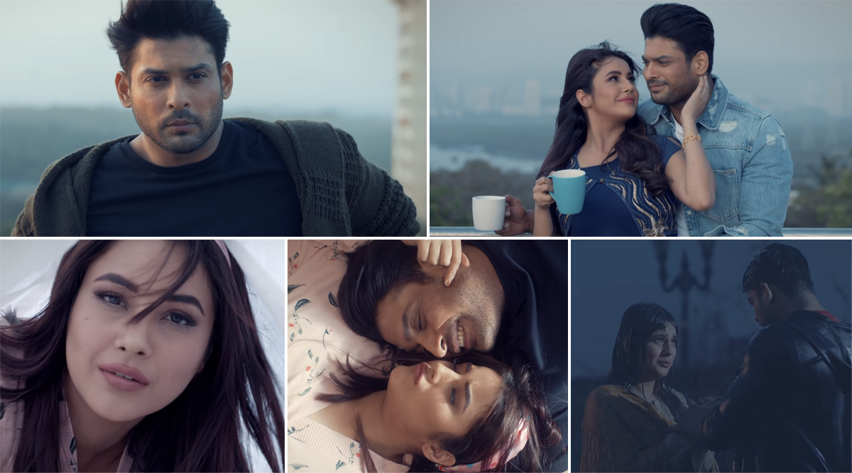 Bhula Dunga Music Video Out: Sidharth Shukla and Shehnaaz Gill's Chemistry Is Electrifying, Song Showcases SidNaaz Moments and We Love It (Watch Video)