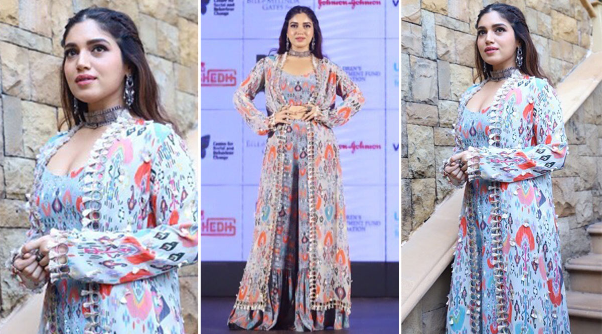 When Bhumi Pednekar Was Boho-Chic and Took Out Her Gypsy Soul for a Spin in a Payal Singhal Ensemble!