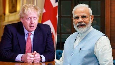 Boris Johnson Tests Positive For Coronavirus: PM Narendra Modi Stands in Solidarity with UK Prime Minister, Says 'You're a Fighter'