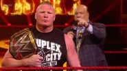 WWE Raw March 30, 2020 Results and Highlights: Paul Heyman Guarantees Brock Lesnar Victory Over Drew McIntyre at WrestleMania 36 (View Pics)