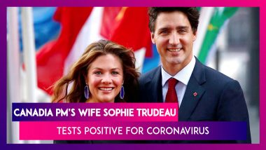 Justin Trudeau, Canadian PM's Wife Sophie Gregoire Trudeau Tests Positive For Coronavirus