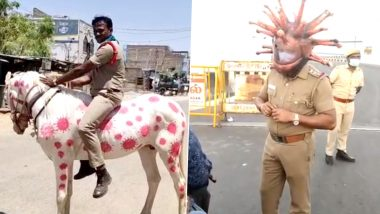 Indian Cops Go Creative to Raise Awareness About COVID-19