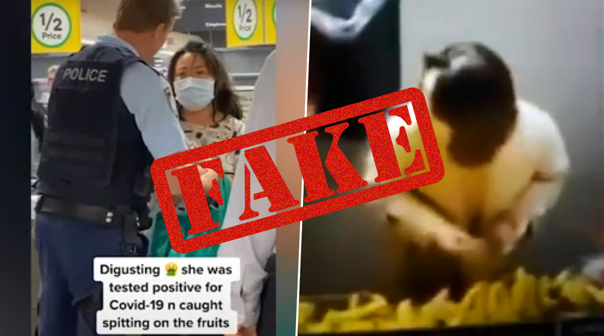 Fact Check: COVID-19 Positive Chinese Woman Arrested For Spitting on Bananas in Australian Supermarket is FAKE! Here's The Truth