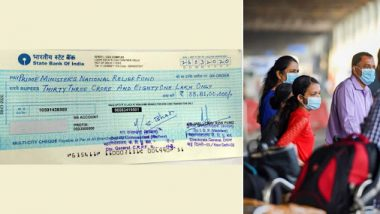 CRPF Personnel Donate One-Day Salary to PM National Relief Fund to Combat Coronavirus in India