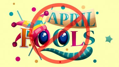 Cancel April Fool's Day 2020! Let's Spread Smiles Instead of 'Purported' Fake News as Pranks