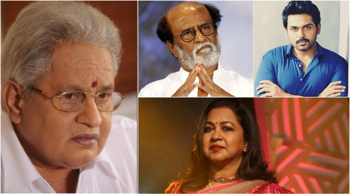 Visu Passes Away At 74: Superstar Rajinikanth, Karthi, Radikaa Sarathkumar and Others Mourn the Death of Veteran Tamil Actor-Director