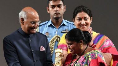 Nari Shakti Puraskar: Jharkhand's Green Warrior Chami Murmu Receives Award From President Ram Nath Kovind on International Women's Day 2020