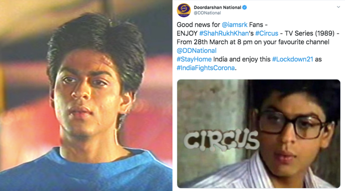 DD National Announces Shah Rukh Khan's Circus Re-Telecast With A Wrong Still From Another Show (View Tweet)