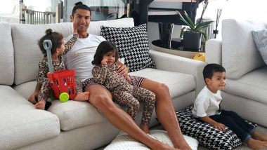 Cristiano Ronaldo Spends Time With Children During Self-Quarantine, 'Be Thankful for the Things That Matter,' Says Juventus Star As World Battles Coronavirus Pandemic