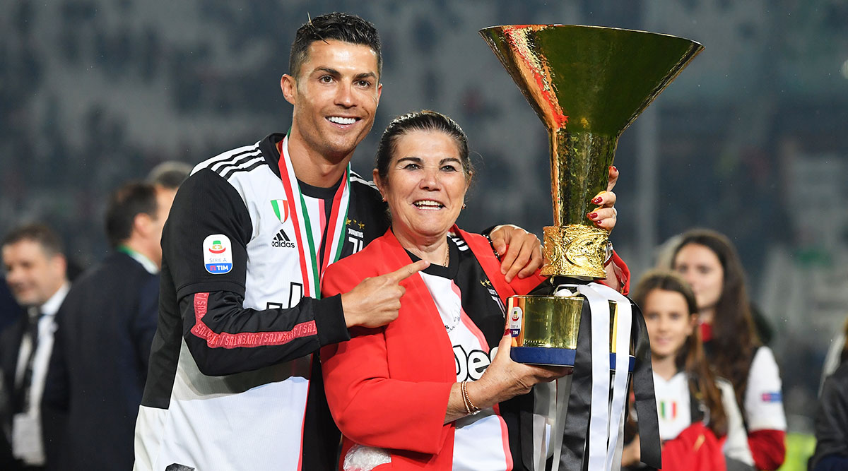 Cristiano Ronaldo's mother rushed to hospital