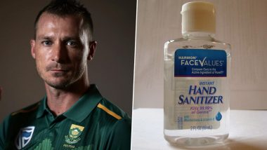 Dale Steyn Makes Tongue-in-Cheek Tweet Amid Coronavirus Outbreak, South African Speedster Feels This Is Perfect Time for Hand Sanitizer Business (See Post)