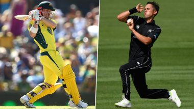 David Warner vs Trent Boult and Other Exciting Mini Battles to Watch Out for During Australia vs New Zealand 1st ODI 2020 in Sydney