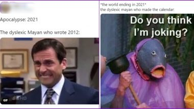 End of World in 2021? Netizens Say Dyslexic Mayan Predicted Apocalypse of 2021 as Doomsday 2012, Check Funny Memes and Tweets