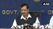 Arvind Kejriwal Announces Rs 1 Crore for Families of Health Professionals Who Die Serving COVID-19 Patients