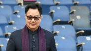 Kiren Rijiju Tests Positive for COVID-19, Union Sports Minister Says He's Physically Fit and Fine