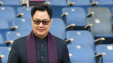 Sports Minister Kiren Rijiju to Launch 200-Km ITBP 'Fit India Walkathon' in Rajasthan's Jaisalmer On October 31