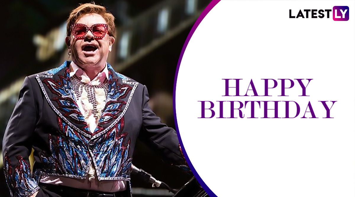 Elton John Birthday: From Sacrifice to Can You Feel the Love Tonight – 5 Best Tunes of This Legendary Singer-Composer (Watch Videos)