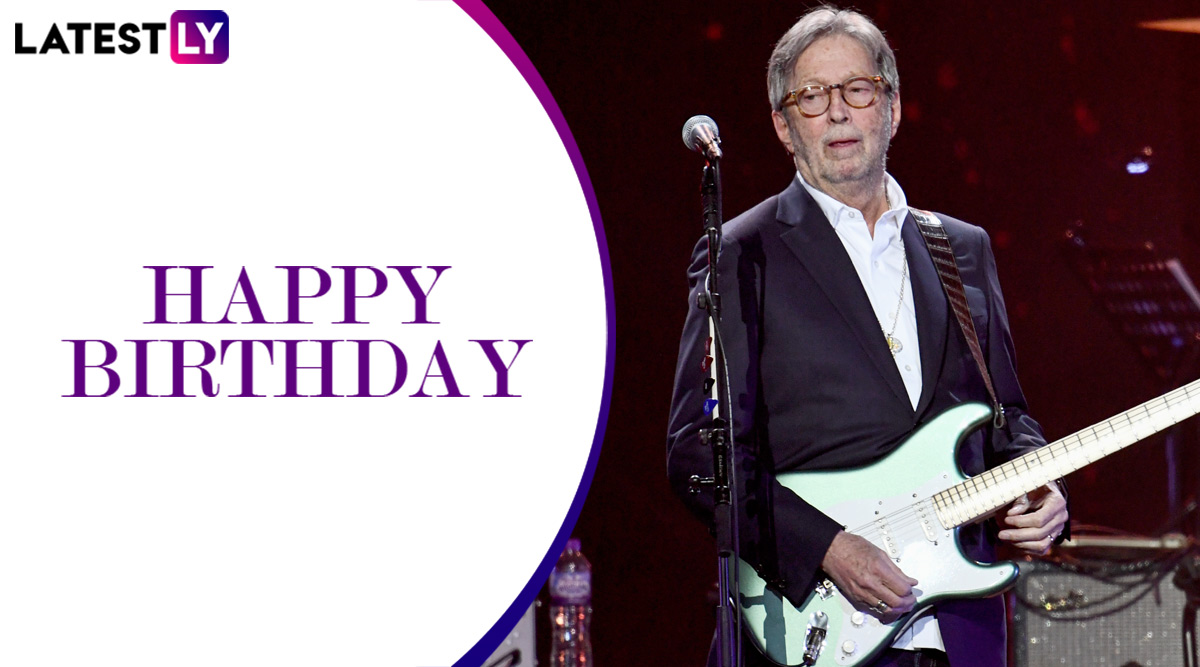 Eric Clapton Birthday: Layla, Tears in Heaven – 5 Songs of the World's Most Influential Guitarist!