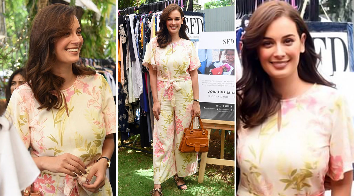 Evelyn Sharma Slips Into a Floral Jumpsuit By AND Making It a Perfect Style Steal