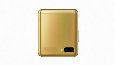 Samsung Galaxy Z Flip Mirror Gold Colour Variant Introduced in India At Rs 1.10 Lakh