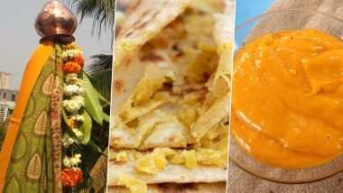 Gudi Padwa 2020 Recipes: From Puran Poli to Aam Ras Puri, 5 Traditional Maharashtrian Delicacies to Try On This Festive Occasion