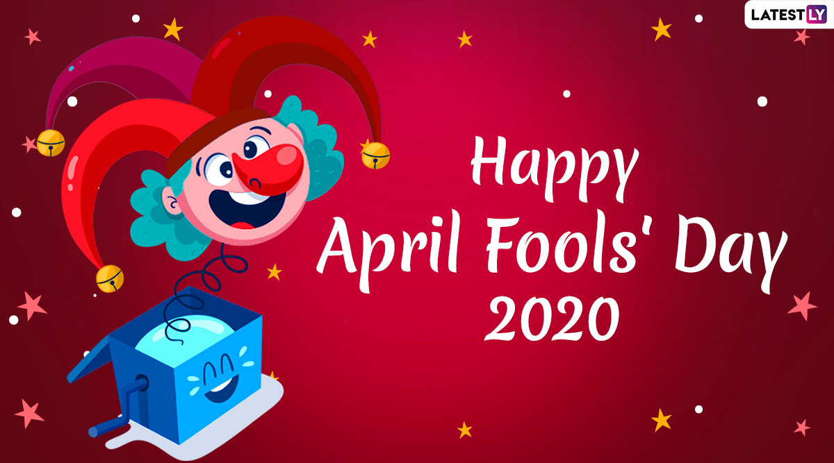 Happy April Fools' Day 2020 Greetings & Funny Romantic Messages ...