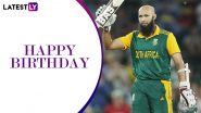 Happy Birthday Hashim Amla: A Look at Some Memorable Knocks by South African Legend