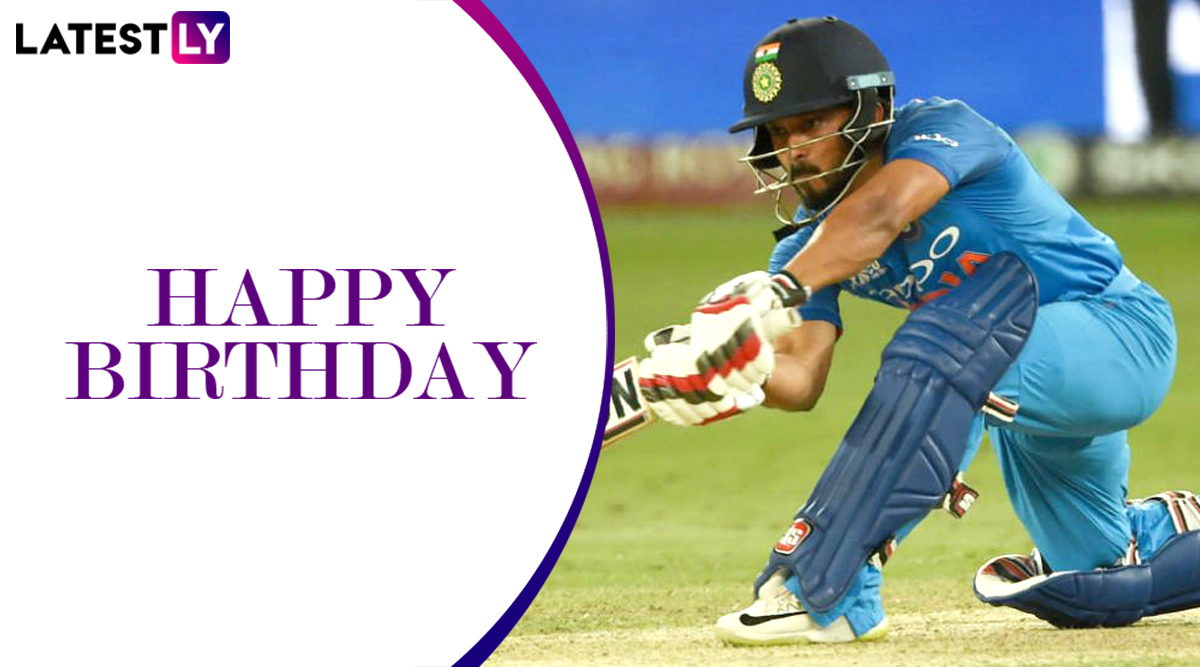 Kedar Jadhav Birhday Special: A Look at Some Remarkable Performances by Indian All-Rounder