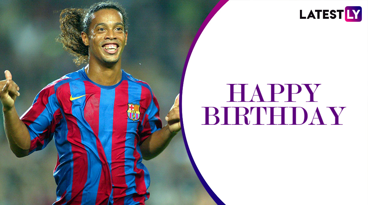 Happy Birthday Ronaldinho: Here's A Look at Top Goals by The Brazilian Legend